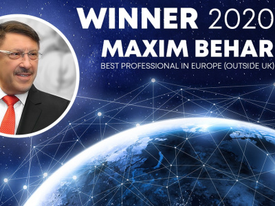 PRWeek Announced Maxim Behar  Best PR Professional in Europe