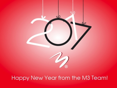 Happy New Year from the M3 Team!