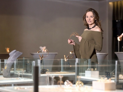 Princess Miriam's jewelry collections for the first time in Bulgaria