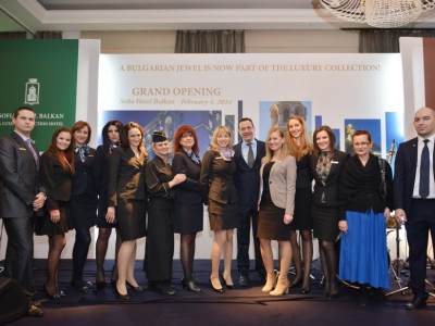 Sofia Hotel Balkan became part of Luxury Collection Hotels