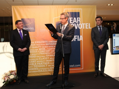 Novotel Sofia celebrated its 1st anniversary