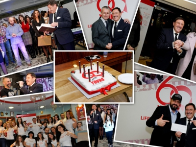 M3's CEO Maxim Behar celebrated his 60th anniversary with a legendary party